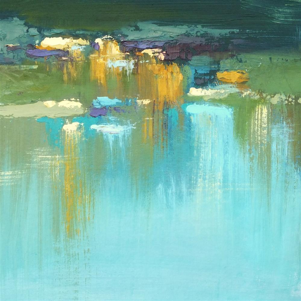 """Landscape 228"" original fine art by Ewa Kunicka"