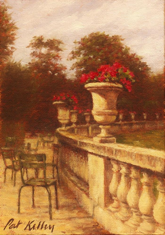 """Paris, Late Afternoon"" original fine art by Pat Kelley"