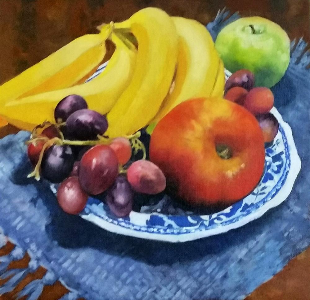 """September 7 Fruit"" original fine art by De Selby"