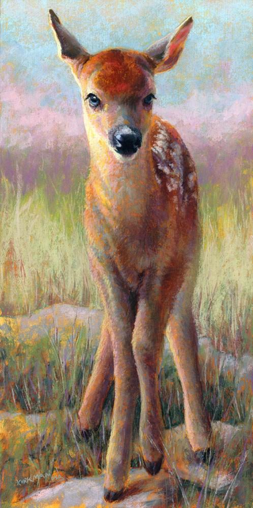 """A New Day"" original fine art by Rita Kirkman"