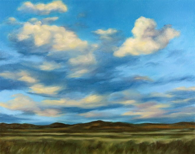 """Good Vibrations"" original fine art by Carol Zirkle"