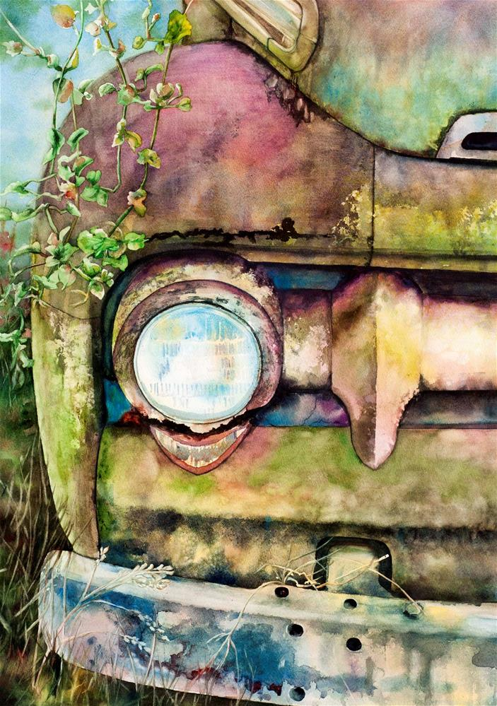 """Abandoned"" original fine art by Diane Fujimoto"