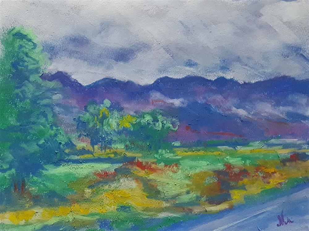 """Road Trip"" original fine art by Niki Hilsabeck"