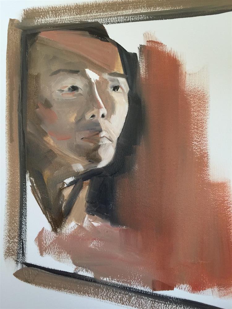 """298 Of Korean Descent"" original fine art by Jenny Doh"
