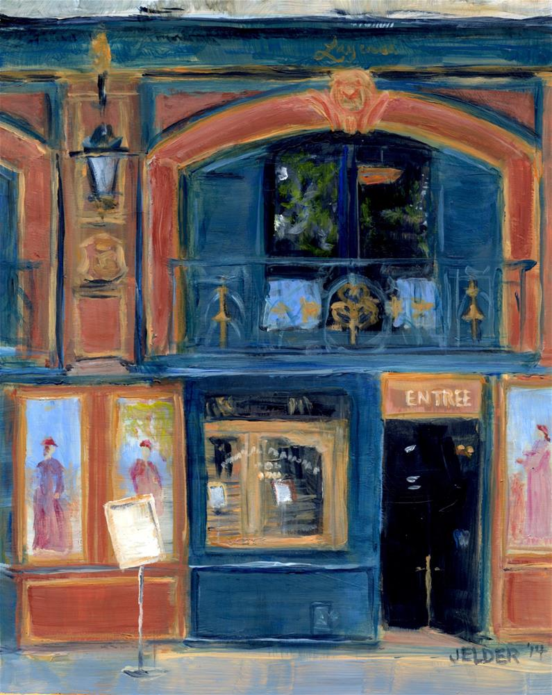 """Paris No. 64"" original fine art by Judith Elder"
