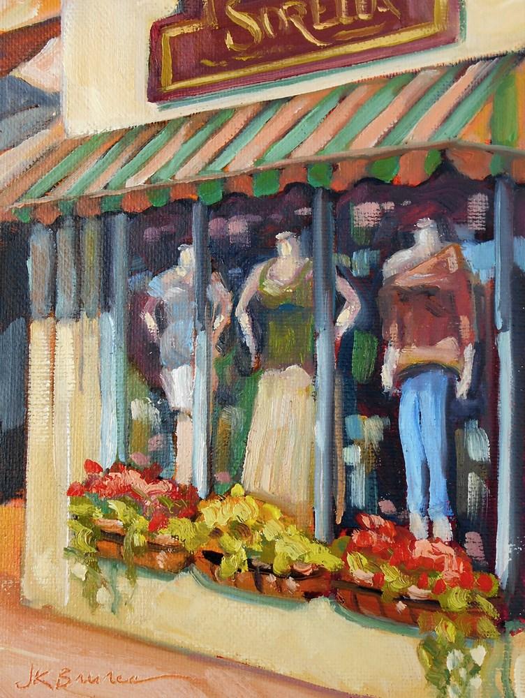 """""""Sorella"""" original fine art by Jeanne Bruneau"""