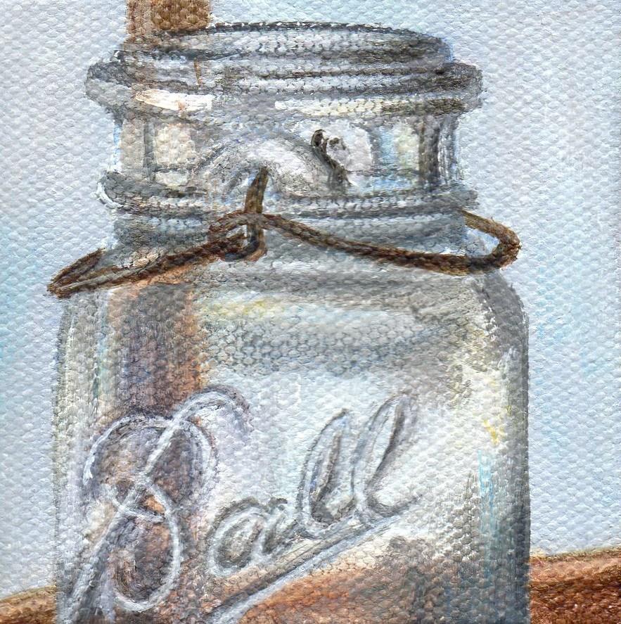 """Having a Ball"" original fine art by Debbie Shirley"