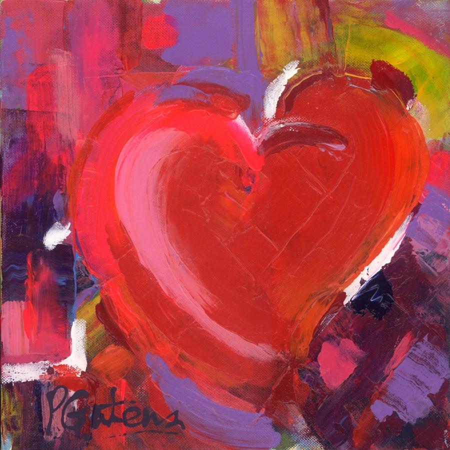 """I Heart You"" original fine art by Pamela Gatens"