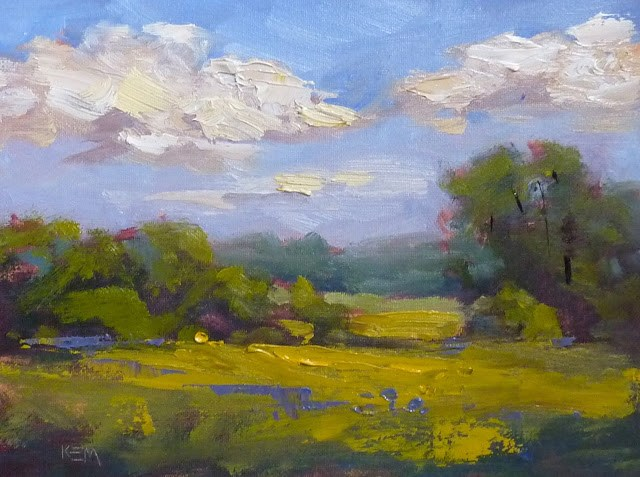 """'Summer Days'"" original fine art by Karen Margulis"