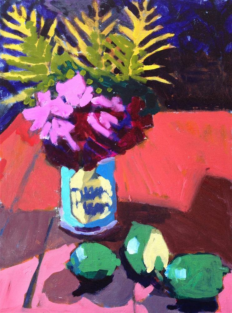 """Tikka Masala"" original fine art by Pamela Hoffmeister"