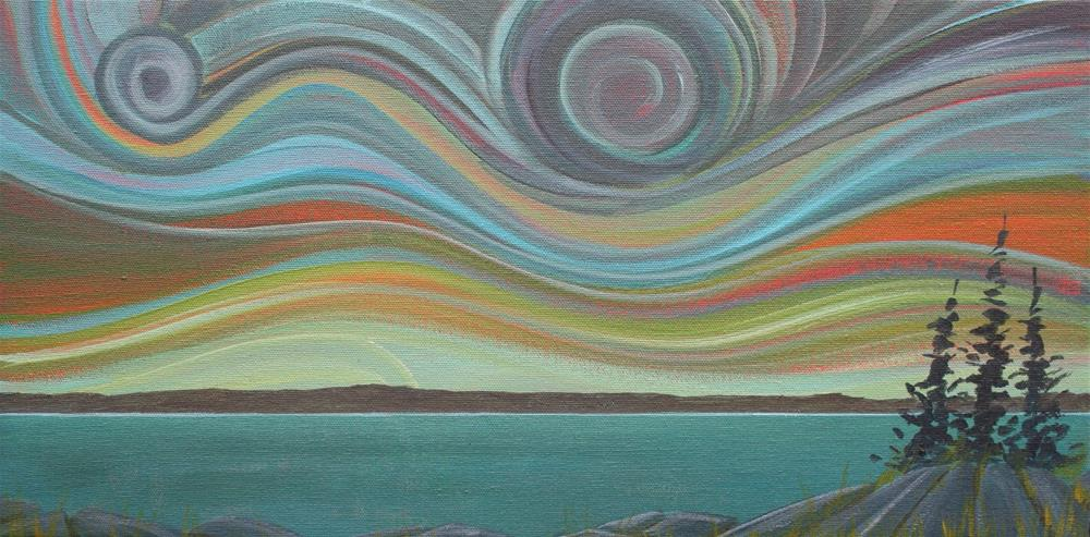 """Colour of the Wind:  Storm"" original fine art by Sage Mountain"