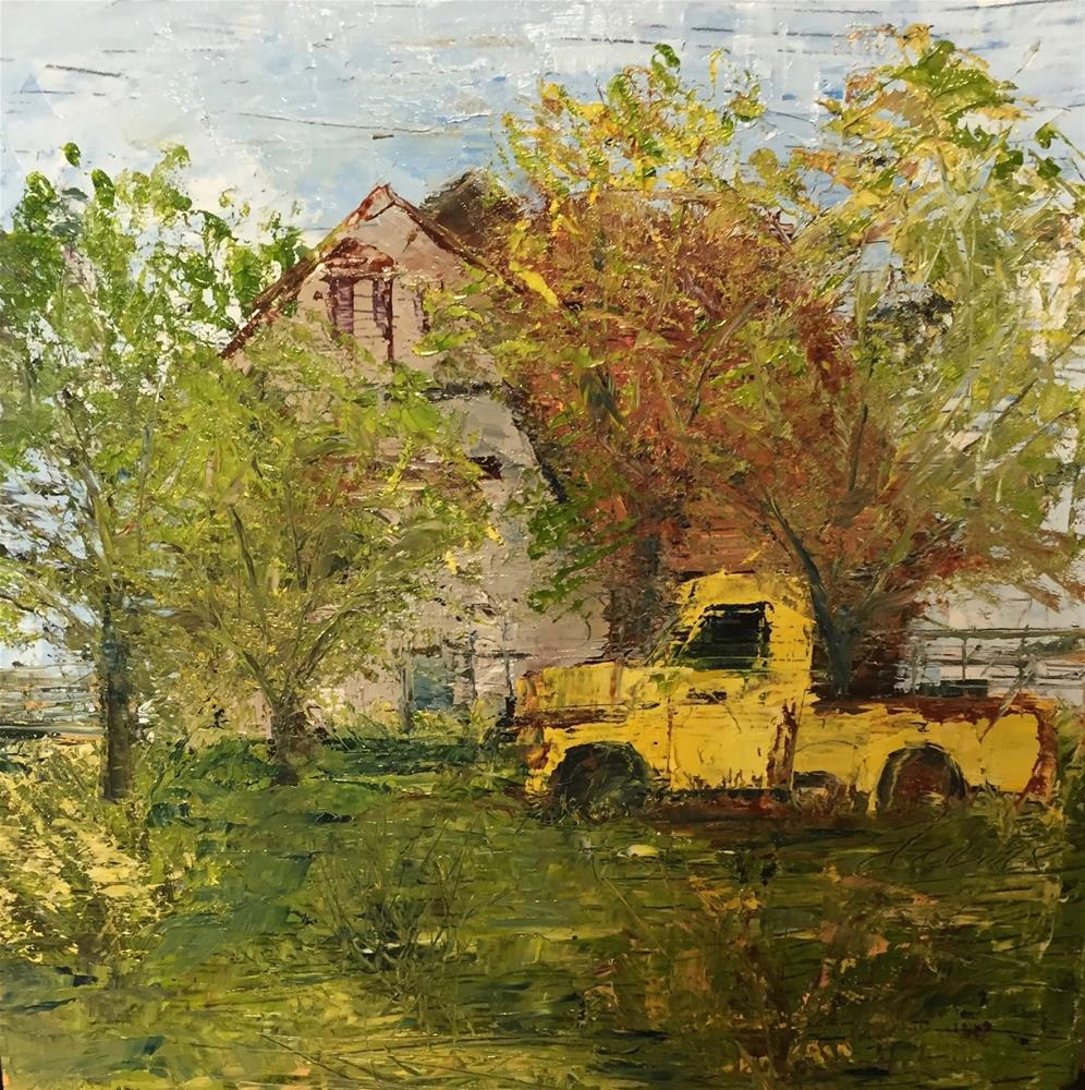 """Old Yeller"" original fine art by Elaine Ford"