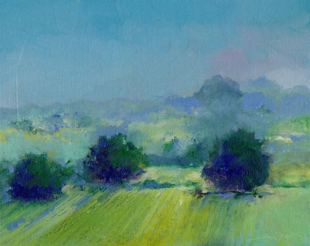 """early evening"" original fine art by Vova DeBak"