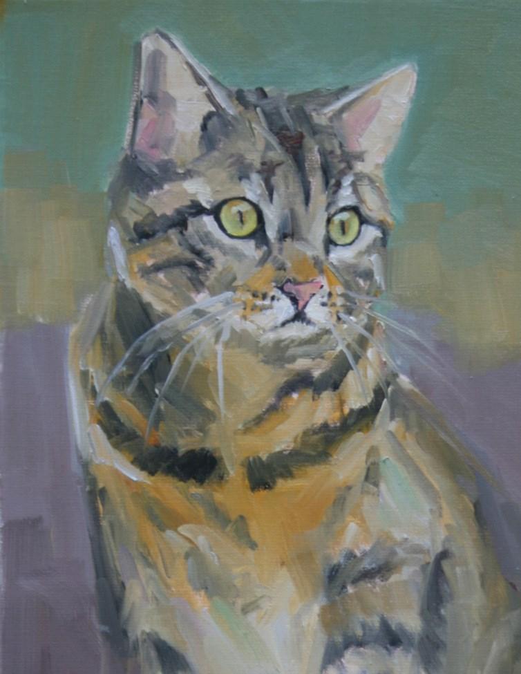 """ruthie"" original fine art by Carol Carmichael"