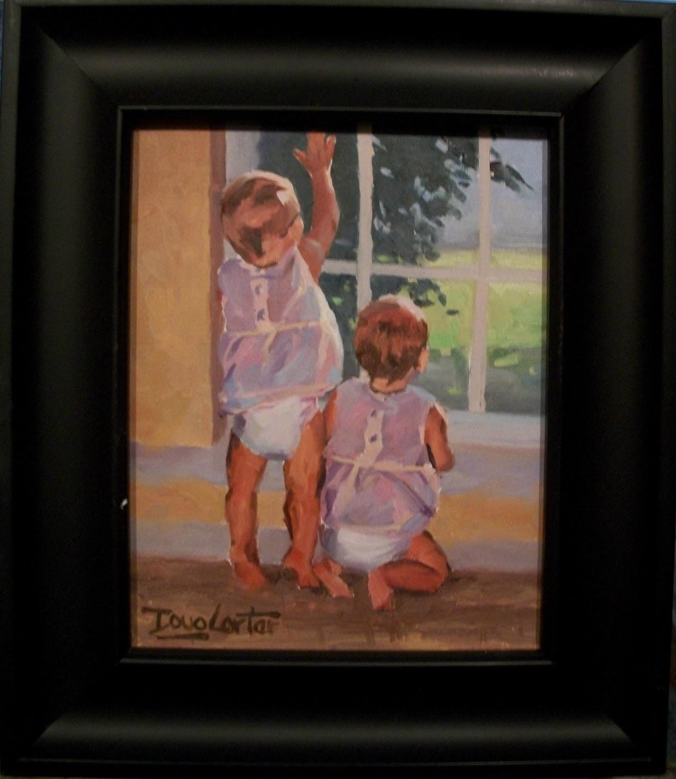 """LOOKING For YOU"" original fine art by Doug Carter"