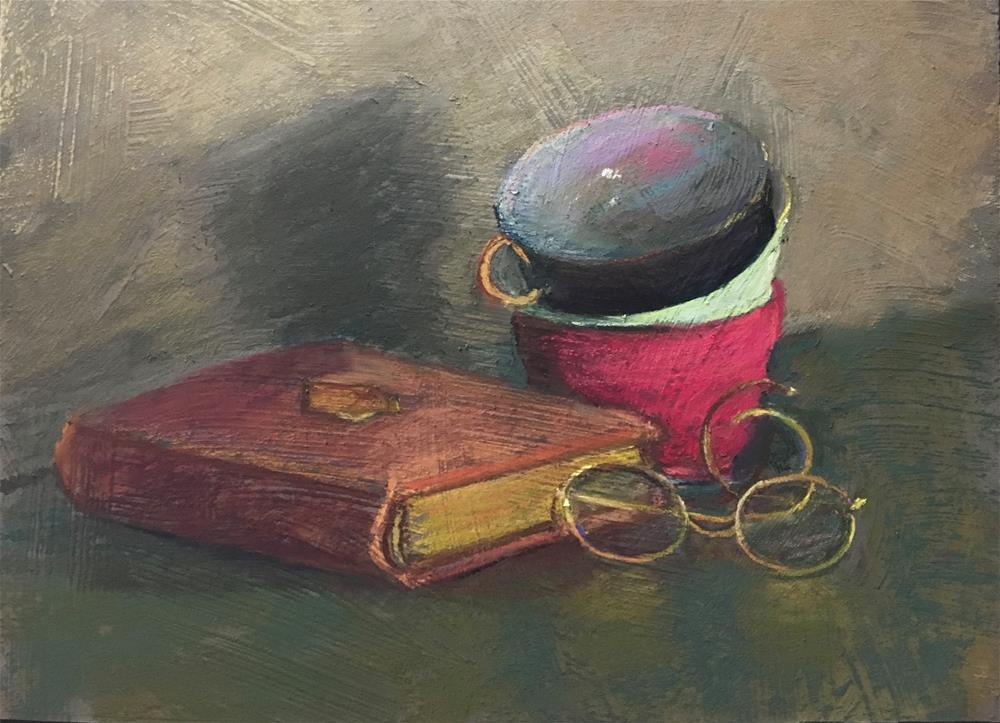 """""""Harriet's Heirlooms 2"""" original fine art by karen israel"""