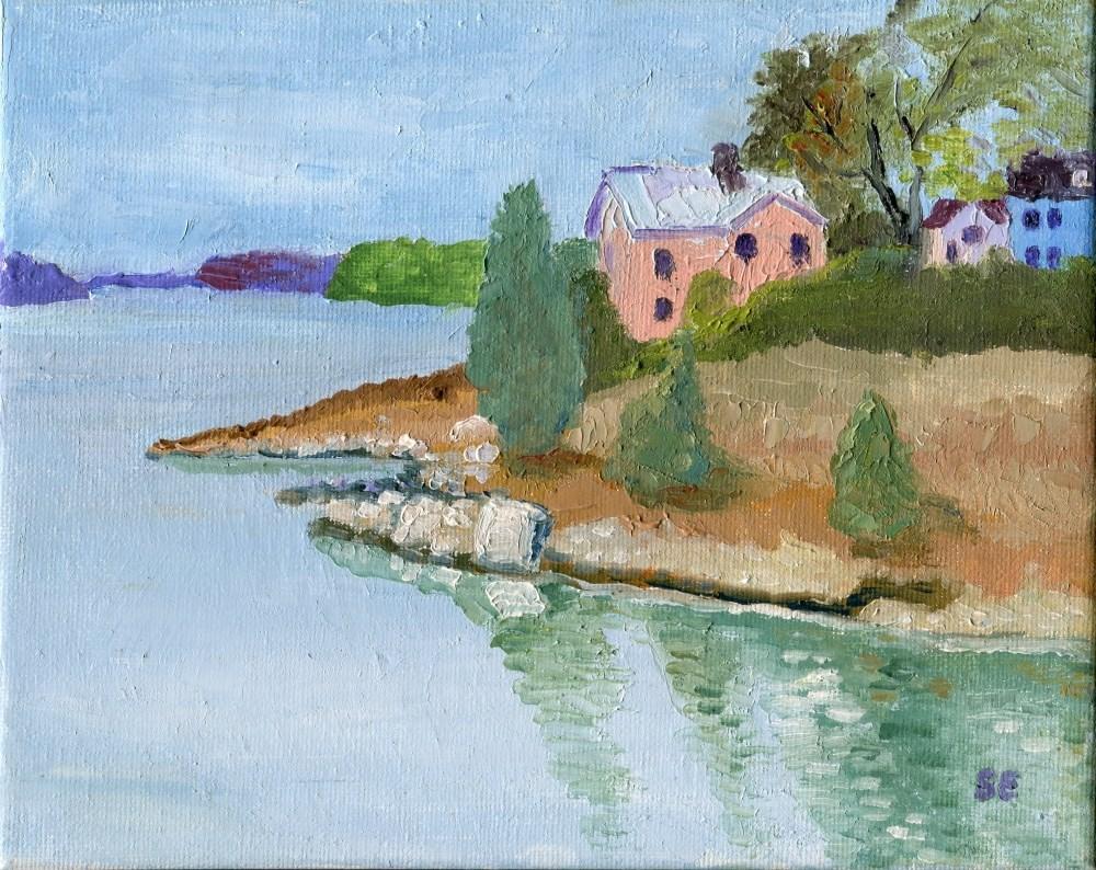 """Sedgwick, Maine"" original fine art by Stanley Epperson"
