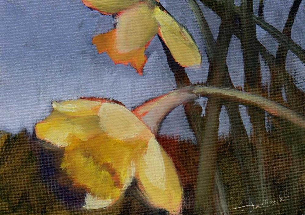 """spring"" original fine art by V. DeBak"