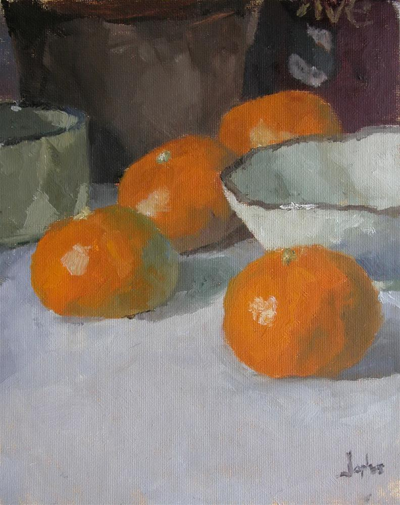 """Mandarin Oranges"" original fine art by Richard Jones"