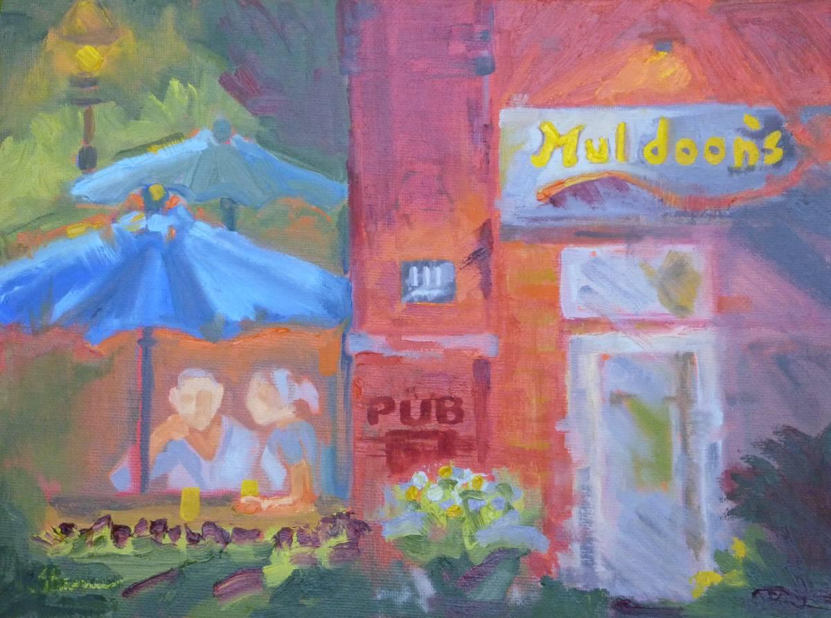 """Muldoon's Irish Pub"" original fine art by Shawn Deitch"