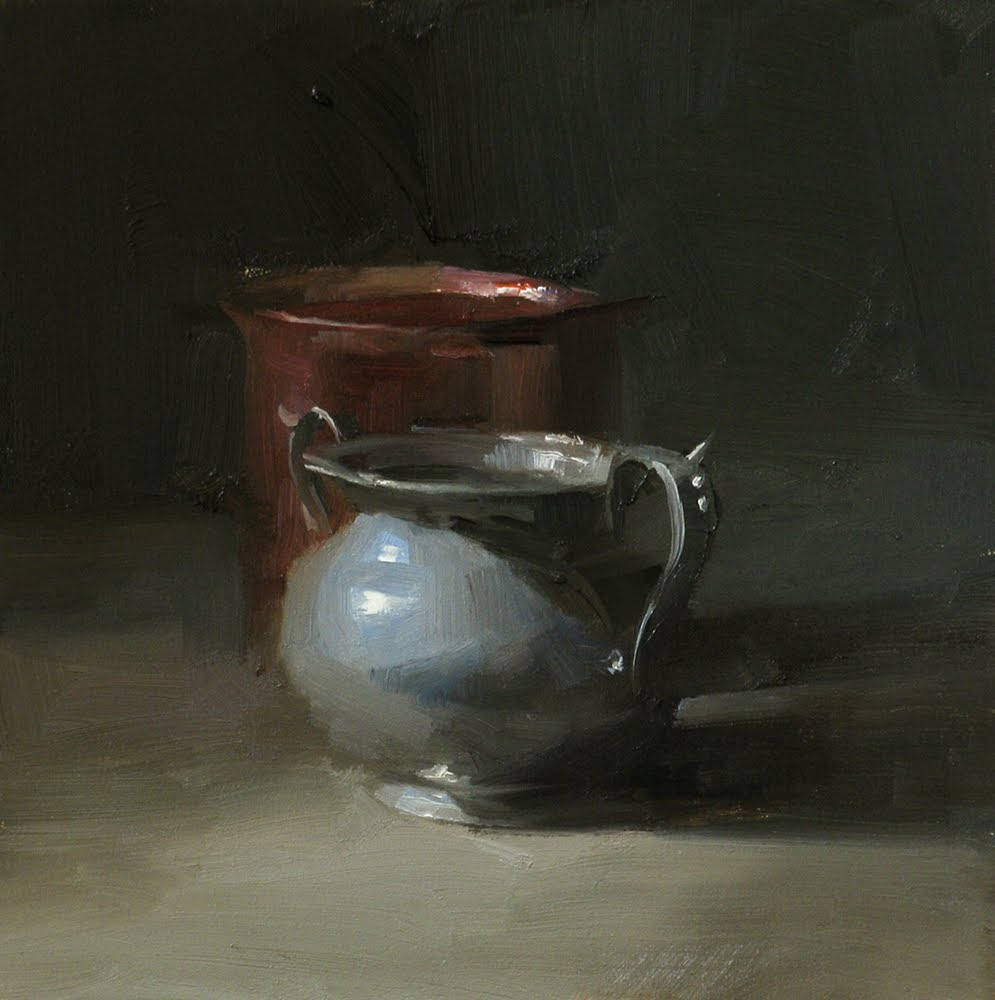 """Gray Sophistication"" original fine art by Qiang Huang"