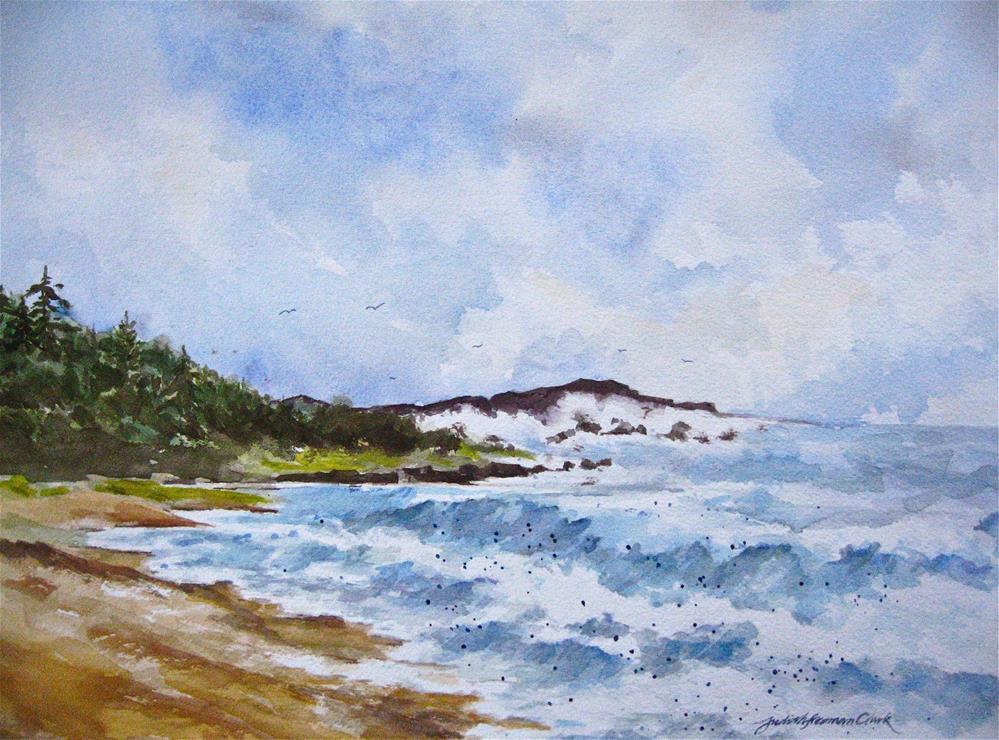"""Atlantic, study"" original fine art by Judith Freeman Clark"