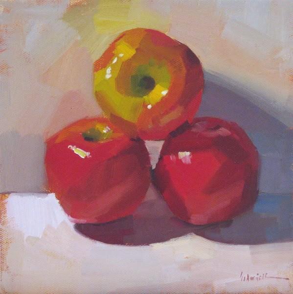 """Primarily Apples"" original fine art by Sarah Sedwick"