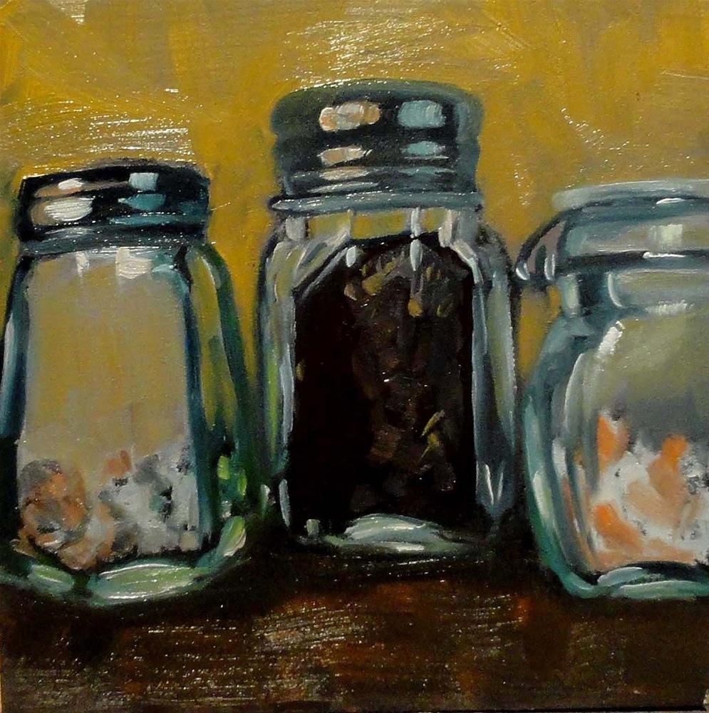 """Salts & Spices"" original fine art by Cietha Wilson"