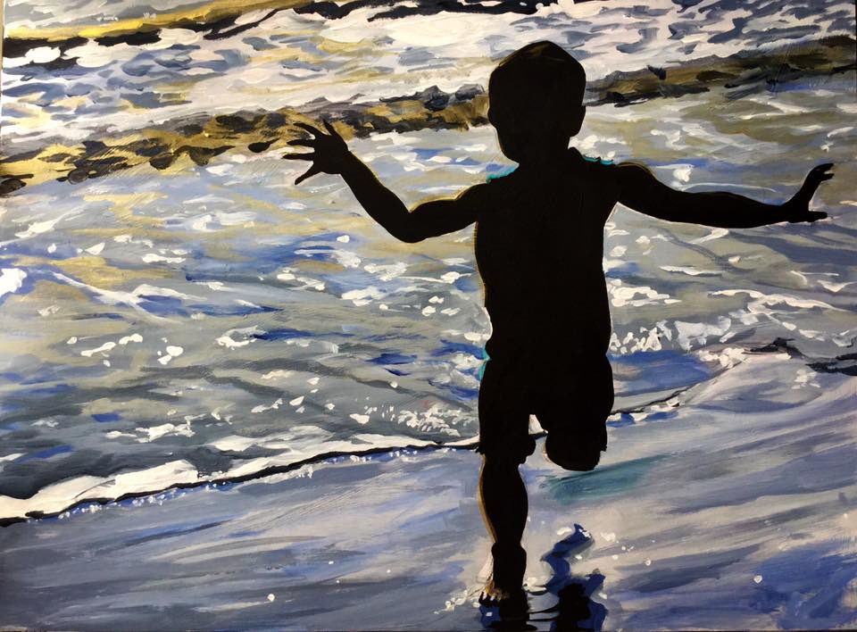 """In Shadow"" original fine art by Lauren Kuhn"
