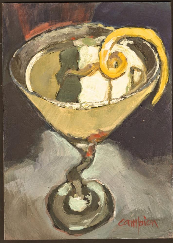 """348 Lemondrop"" original fine art by Diane Campion"