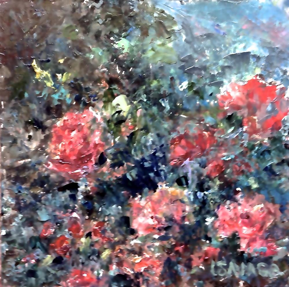"""You Promised Me Roses"" original fine art by Judy Usavage"