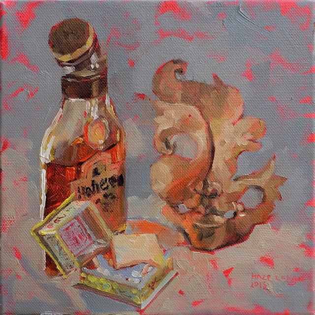 """Reputation"" original fine art by Haze Long"