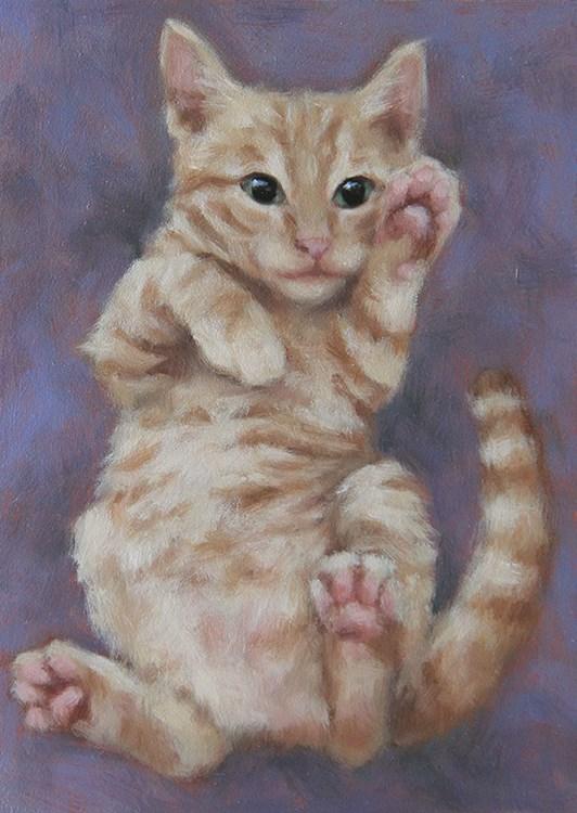 """Shrimp"" original fine art by Sarah Becktel"