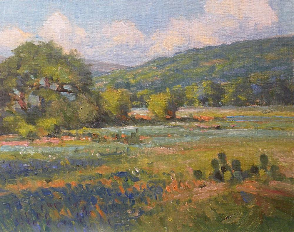"""Early Light"" original fine art by David Forks"