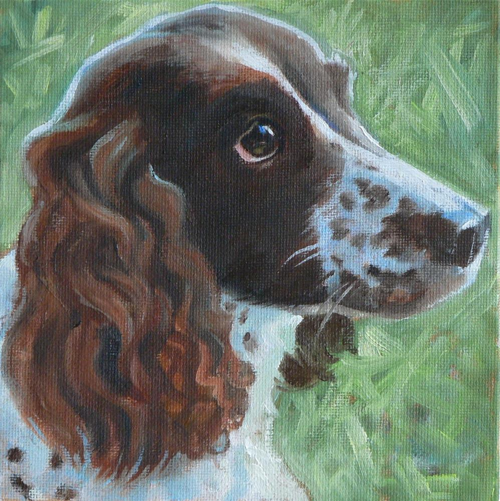 """Lula"" original fine art by Leigh Buchanan"