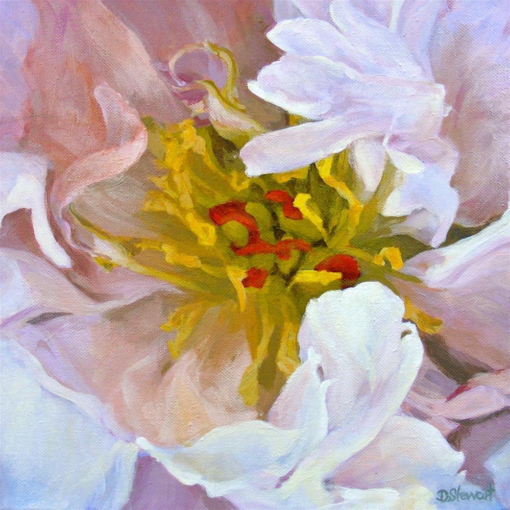 """""""Peony"""" original fine art by Diana Stewart"""