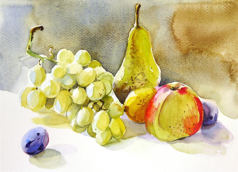 """fruits"" original fine art by Beata Musial-Tomaszewska"