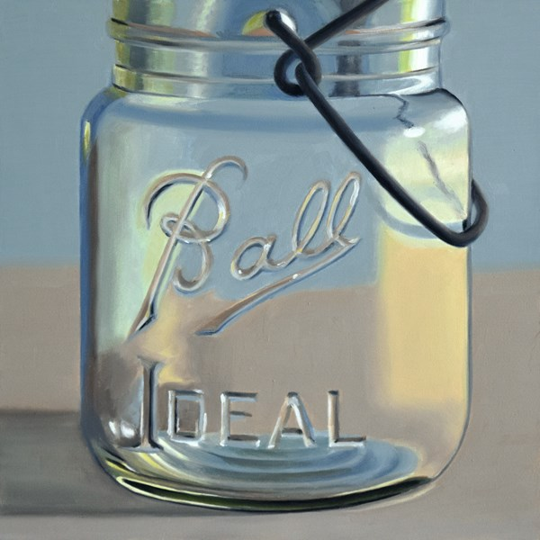 """Ball Ideal Jar"" original fine art by Nance Danforth"