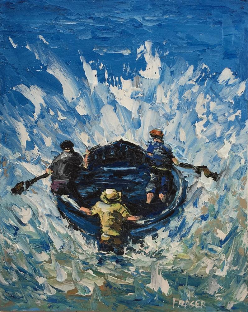 """""""Resistance"""" original fine art by Ken Fraser"""