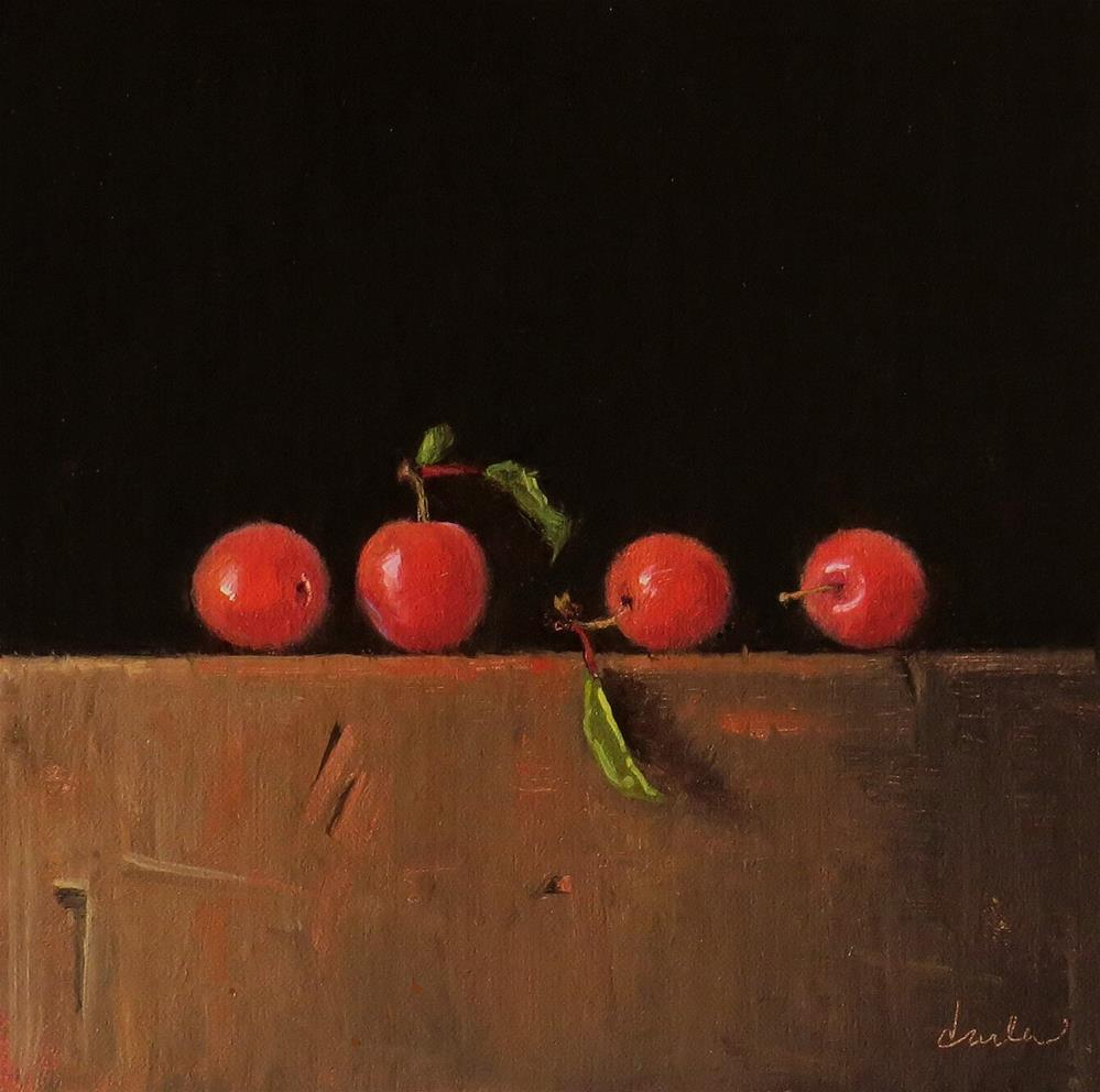 """Wild Plums"" original fine art by Darla McDowell"