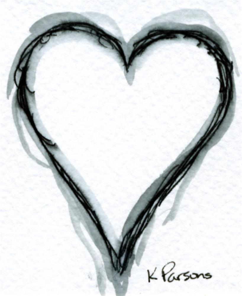 """Have a Heart"" original fine art by Kali Parsons"