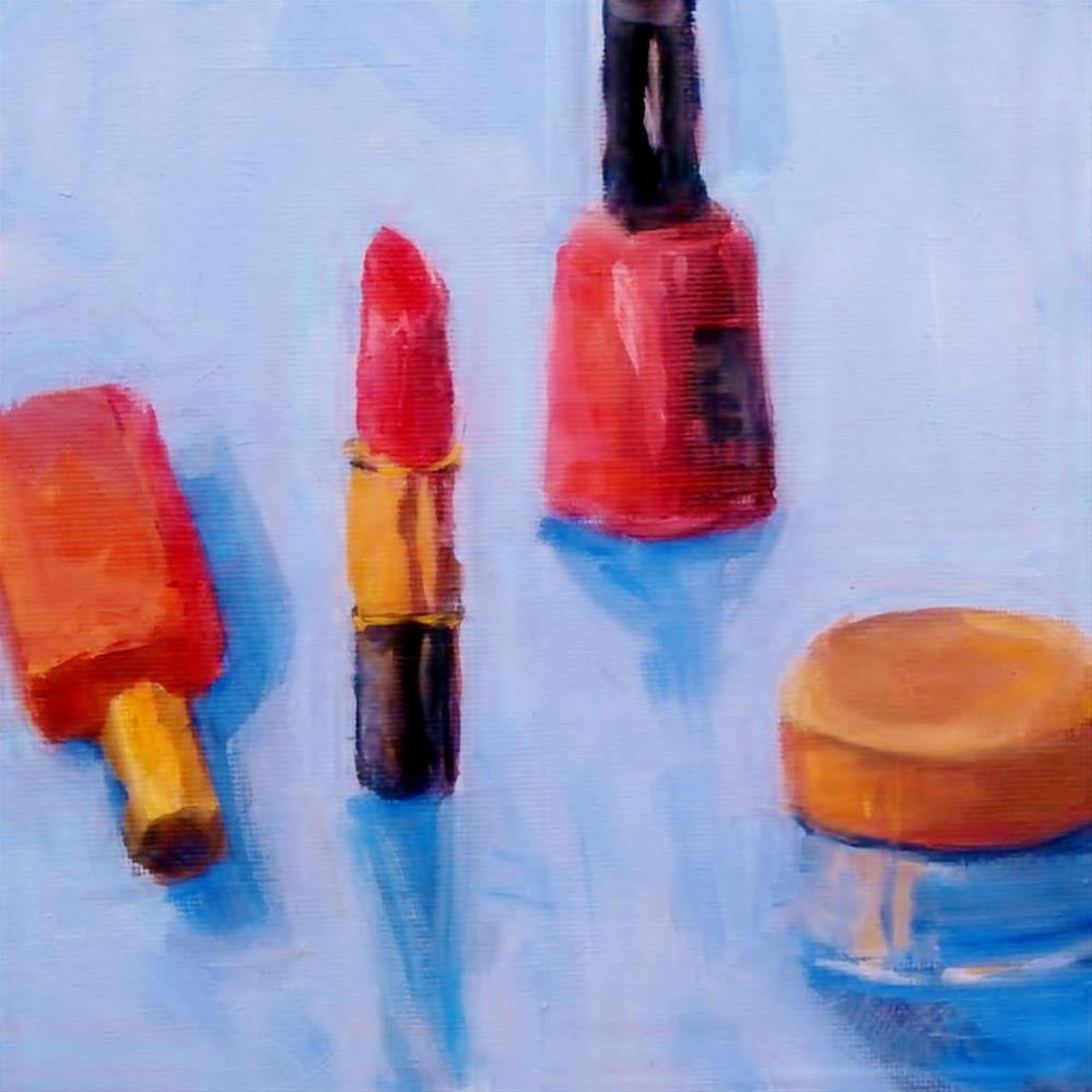 """Necessary Items"" original fine art by Connie Snipes"