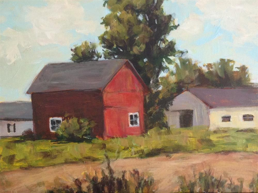 """Old Country"" original fine art by Shannon Bauer"