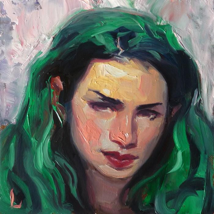 """Emerald"" original fine art by John Larriva"