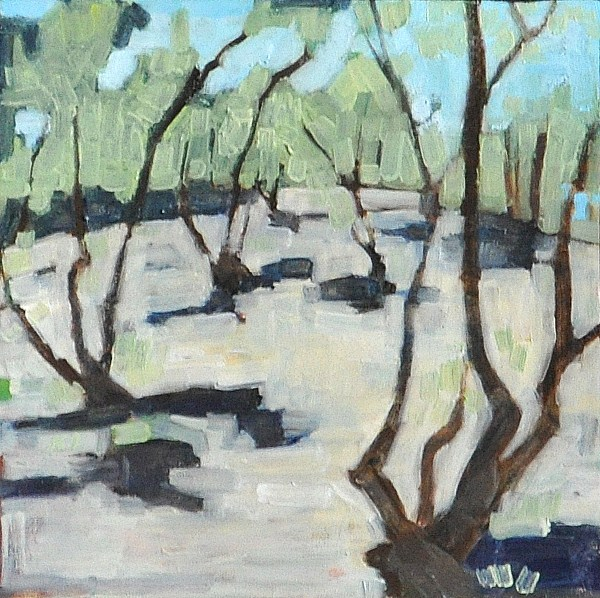 """Olive Grove"" original fine art by Kevin Inman"