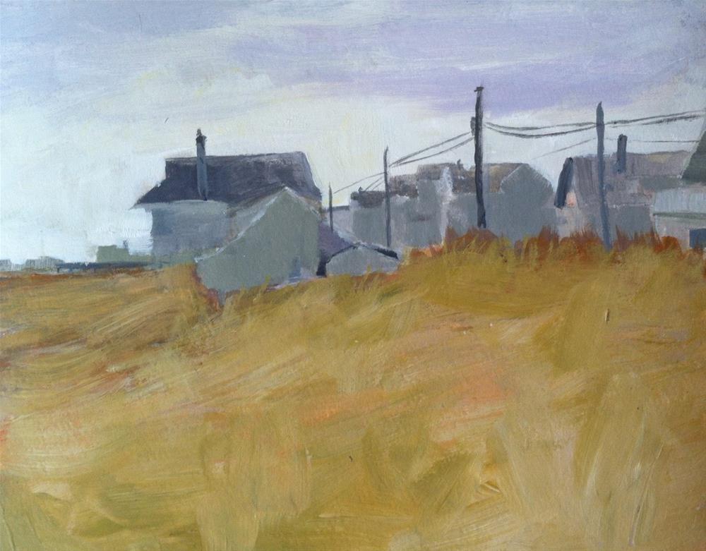 """Jersey Shore"" original fine art by Christine Parker"