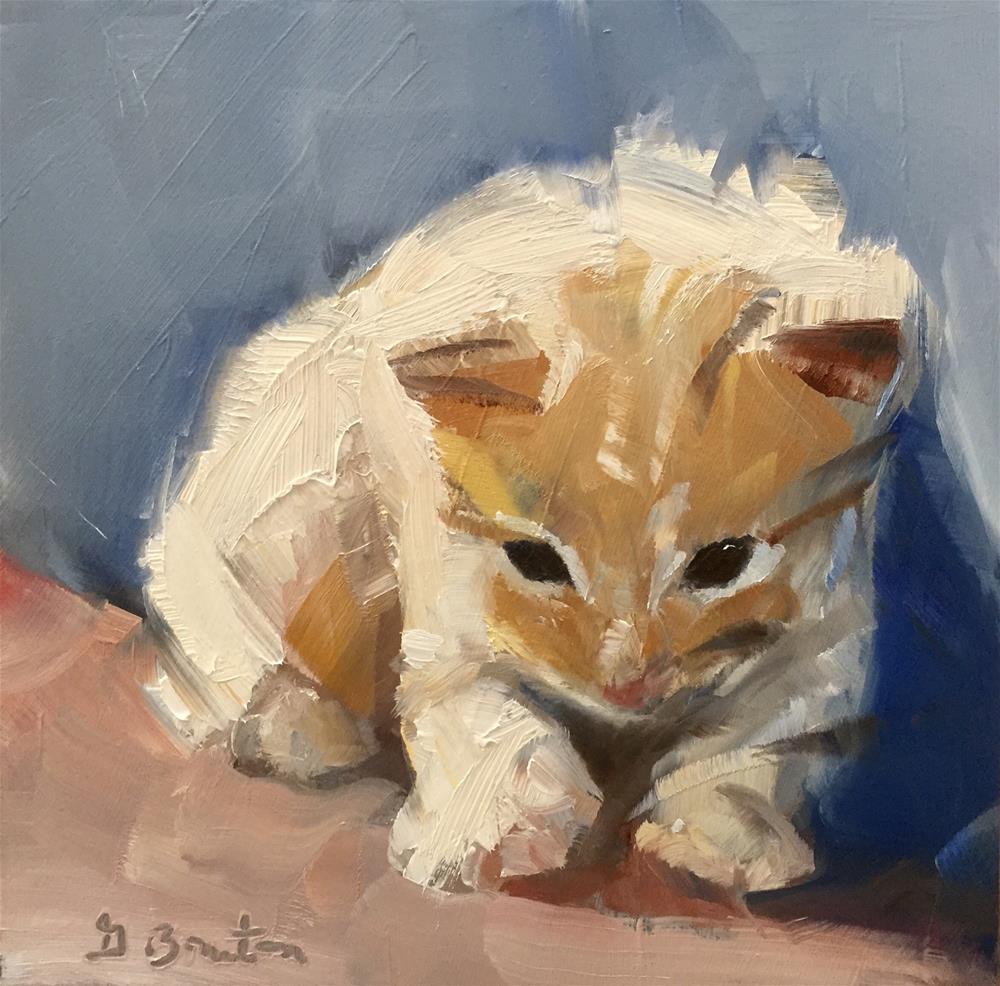 """Cute As Can Be"" original fine art by Gary Bruton"