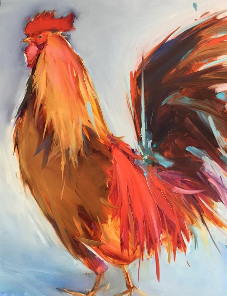 """Tuesday"" original fine art by Kathleen Broaderick"