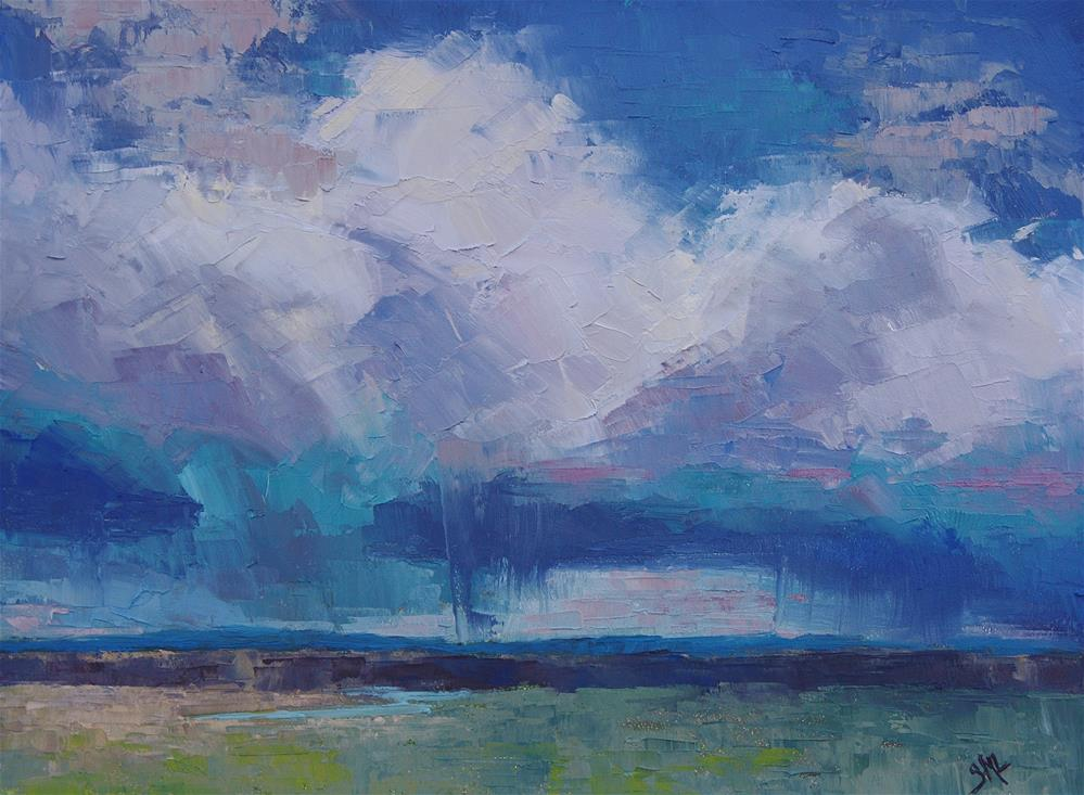 """Brilliant Skies"" original fine art by Sheila Marie"