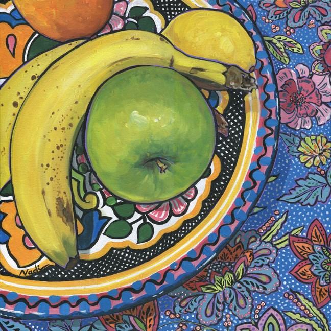 """Fruit Dish"" original fine art by Nadi Spencer"